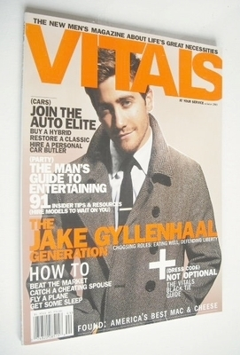 Vitals magazine - Jake Gyllenhaal cover (Winter 2005)