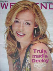 Weekend magazine - Cat Deeley cover (10 September 2005)