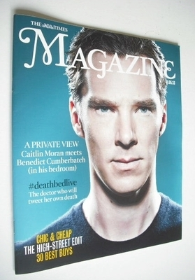 <!--2013-05-11-->The Times magazine - Benedict Cumberbatch cover (11 May 20