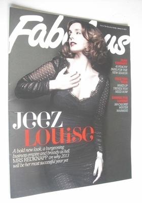 <!--2013-01-13-->Fabulous magazine - Louise Redknapp cover (13 January 2013