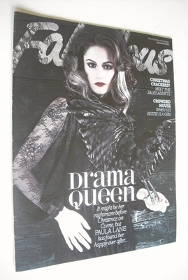 <!--2012-12-23-->Fabulous magazine - Paula Lane cover (23 December 2012)
