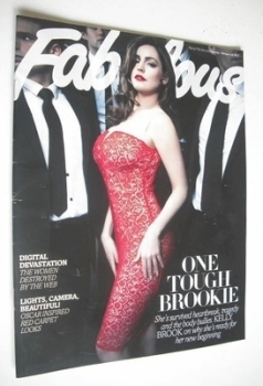 Fabulous magazine - Kelly Brook cover (24 February 2013)