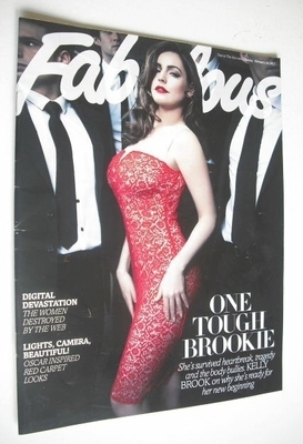 <!--2013-02-24-->Fabulous magazine - Kelly Brook cover (24 February 2013)