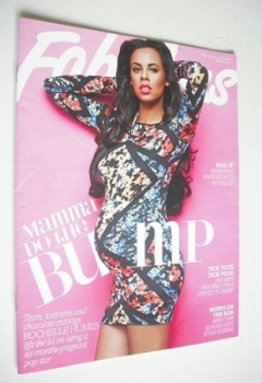 Fabulous magazine - Rochelle Humes cover (10 March 2013)
