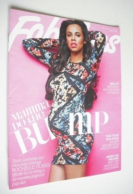 <!--2013-03-10-->Fabulous magazine - Rochelle Humes cover (10 March 2013)