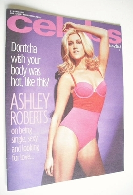 <!--2013-04-21-->Celebs magazine - Ashley Roberts cover (21 April 2013)