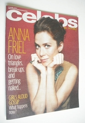 <!--2013-04-14-->Celebs magazine - Anna Friel cover (14 April 2013)