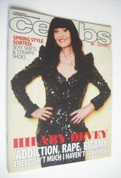 Celebs magazine - Hilary Devey cover (17 March 2013)