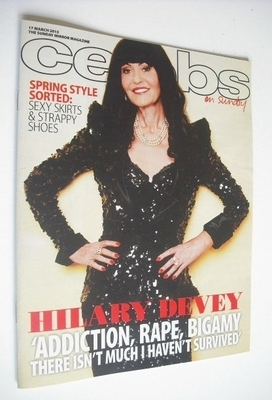 <!--2013-03-17-->Celebs magazine - Hilary Devey cover (17 March 2013)