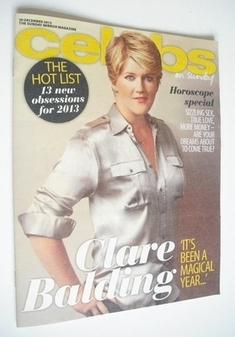 <!--2012-12-30-->Celebs magazine - Clare Balding cover (30 December 2012)