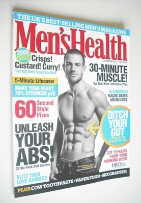 <!--2009-10-->British Men's Health magazine - October 2009 - James Bayntun