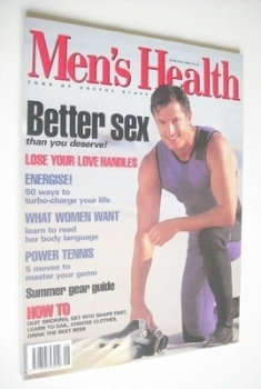 British Men's Health magazine - June/July 1995