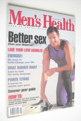 <!--1995-06-->British Men's Health magazine - June/July 1995