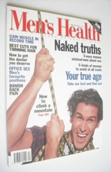 British Men's Health magazine - April/May 1995