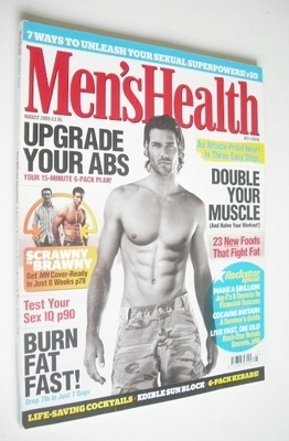 <!--2009-08-->British Men's Health magazine - August 2009 - Terence Lorton