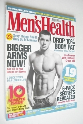 <!--2009-09-->British Men's Health magazine - September 2009 - Mike Fawkes