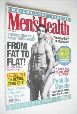 <!--2009-07-->British Men's Health magazine - July 2009