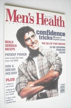 British Men's Health magazine - October/November 1995 - Richard Gurr cover