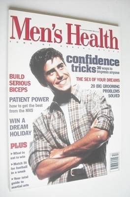 <!--1995-10-->British Men's Health magazine - October/November 1995 - Richa