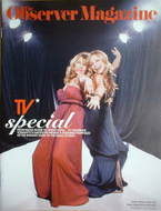 <!--2006-05-07-->The Observer magazine - Ashley Jensen &amp; Sarah Alexander cover (7 May 2006)