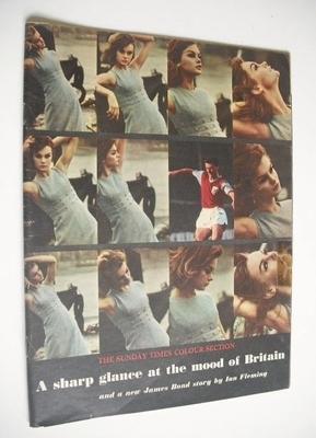 <!--1962-02-04-->The Sunday Times Colour Section magazine - Jean Shrimpton