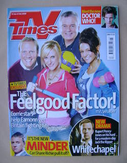 <!--2009-01-31-->TV Times magazine - The Feelgood Factor! cover (31 January