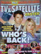 TV & Satellite Week magazine - David Tennant & Billie Piper cover (15-21 April 2006)