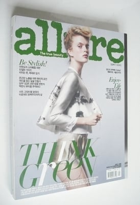 <!--2010-04-->Allure magazine - April 2010 - Mirte Maas cover (Korea Editio