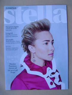 <!--2013-03-17-->Stella magazine - Hayden Panettiere cover (17 March 2013)
