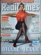 <!--2007-09-22-->Radio Times magazine - Billie Piper (Belle de Jour) cover