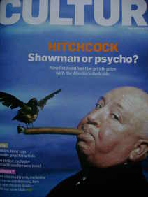 <!--2008-09-07-->Culture magazine - Alfred Hitchcock cover (7 September 200