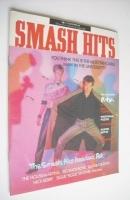 <!--1986-12-17-->Smash Hits magazine - A-Ha cover (17-30 December 1986)