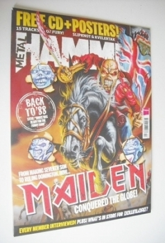 Metal Hammer magazine - Iron Maiden cover (April 2013)