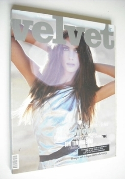 <!--2007-04-->Velvet magazine - Jessica Miller cover (April 2007 - Issue 5)