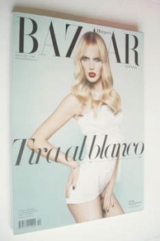 Harper's Bazaar Spain magazine - March 2011 - Anne Vyalitsyna cover