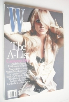 W magazine - February 2004 - Cameron Diaz cover