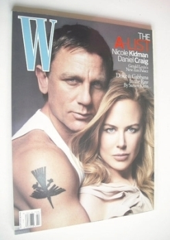 W magazine - February 2007 - Nicole Kidman and Daniel Craig cover