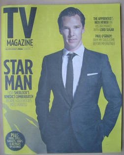 The Sun TV magazine - 4 May 2013 - Benedict Cumberbatch cover