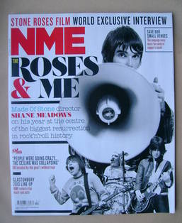 <!--2013-04-06-->NME magazine - Ian Brown cover (6 April 2013)