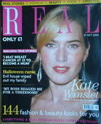 Real magazine - Kate Winslet cover (27 October 2006)