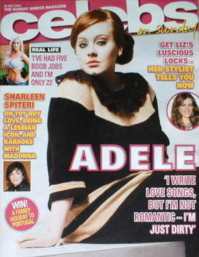 <!--2008-07-20-->Celebs magazine - Adele cover (20 July 2008)