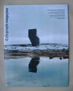 <!--2013-02-09-->Telegraph magazine - Tower Studio, Fogo Island, Newfoundla