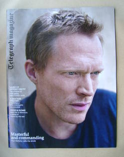 <!--2013-05-18-->Telegraph magazine - Paul Bettany cover (18 May 2013)
