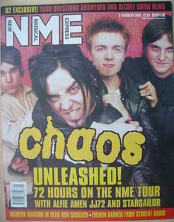 <!--2001-02-03-->NME magazine - 3 February 2001