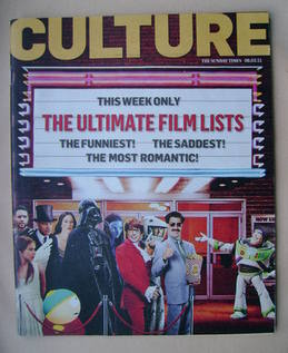 <!--2011-03-06-->Culture magazine - The Ultimate Film Lists cover (6 March