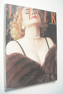 <!--1986-11-->Tatler magazine - November 1986  - Susie Kydd cover