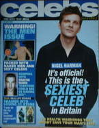 <!--2006-06-18-->Celebs magazine - Nigel Harman cover (18 June 2006)
