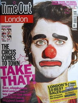 <!--2009-06-25-->Time Out magazine - Howard Donald cover (25 June - 1 July
