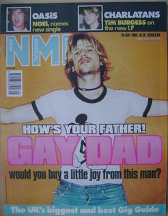 NME magazine - Gay Dad cover (29 May 1999)
