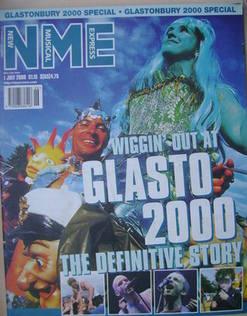 NME magazine - Glasto 2000 cover (1 July 2000)
